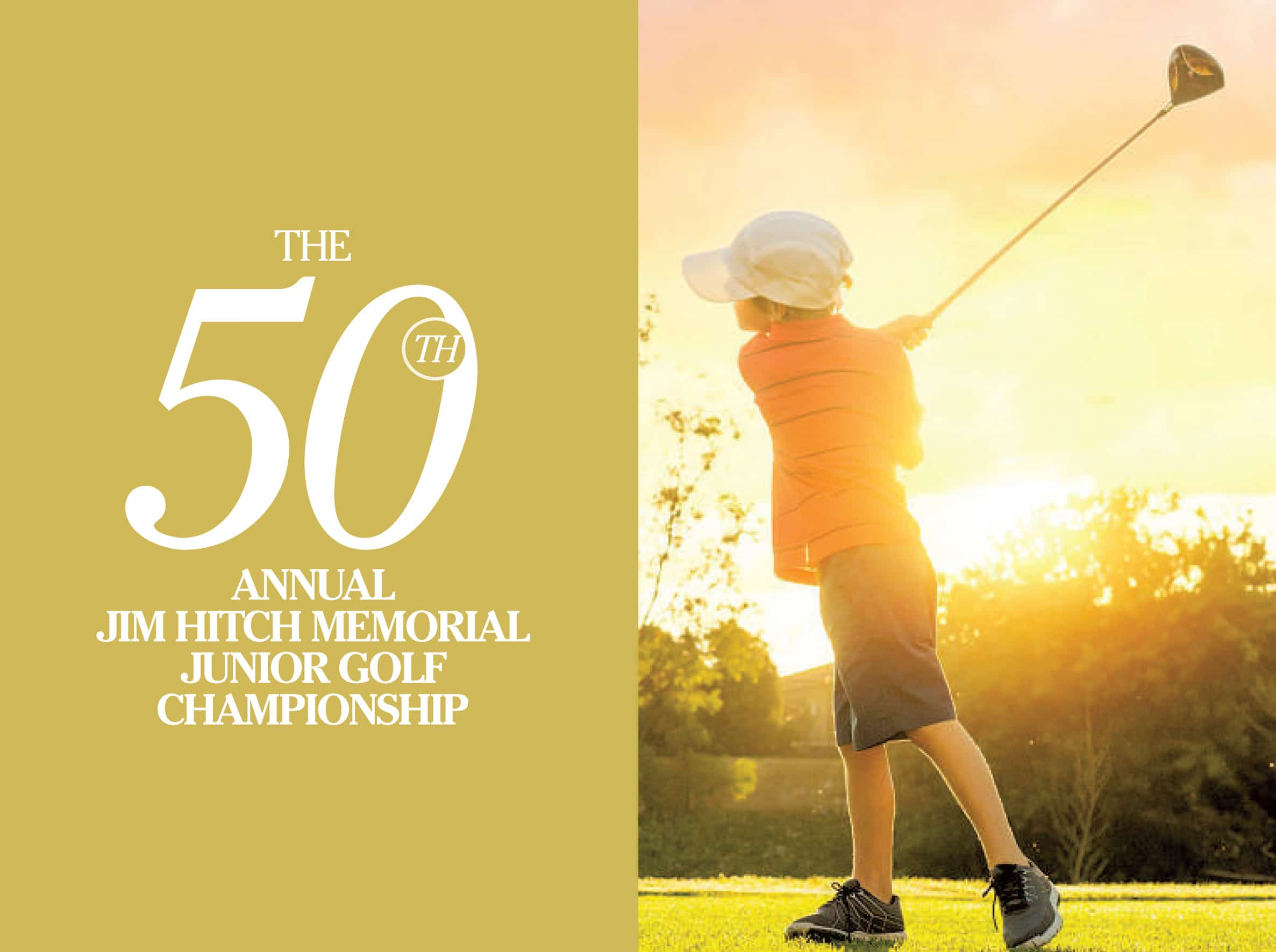 50th Annual Jim Hitch Memorial Junior Golf Chamionship